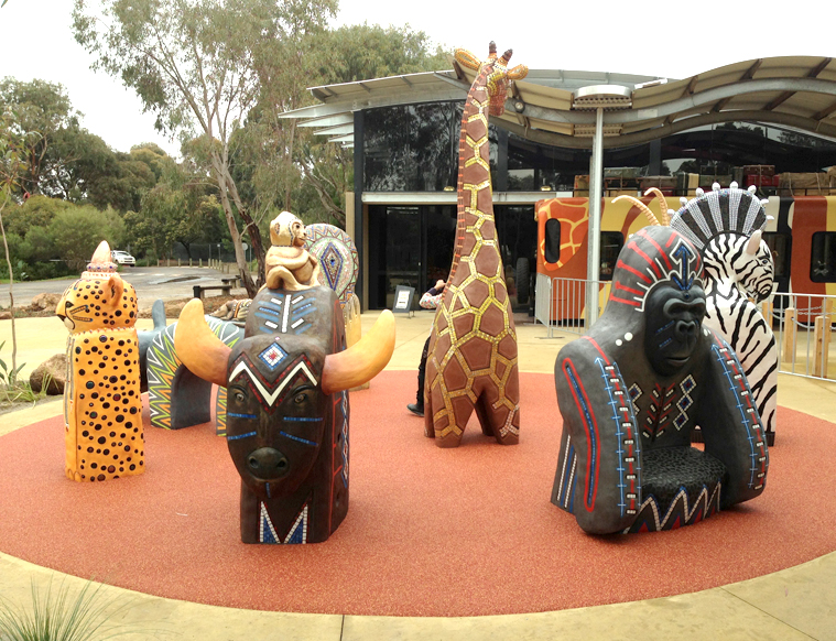 Werribee Zoo Entry