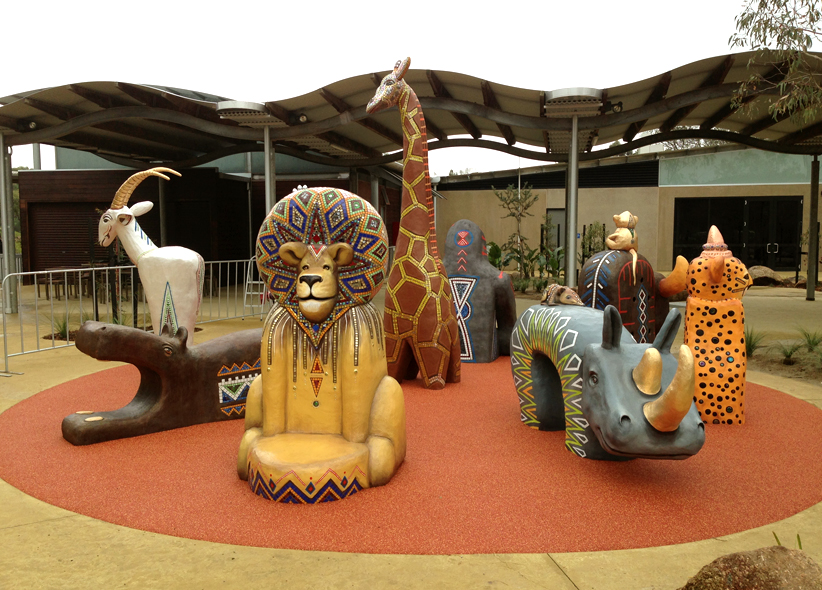 Werribee Zoo Foyer