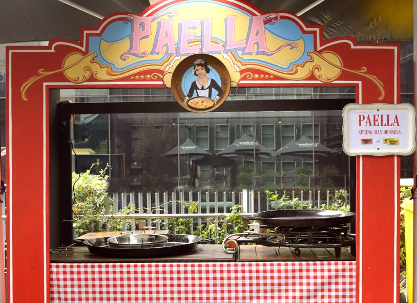Paella Stand