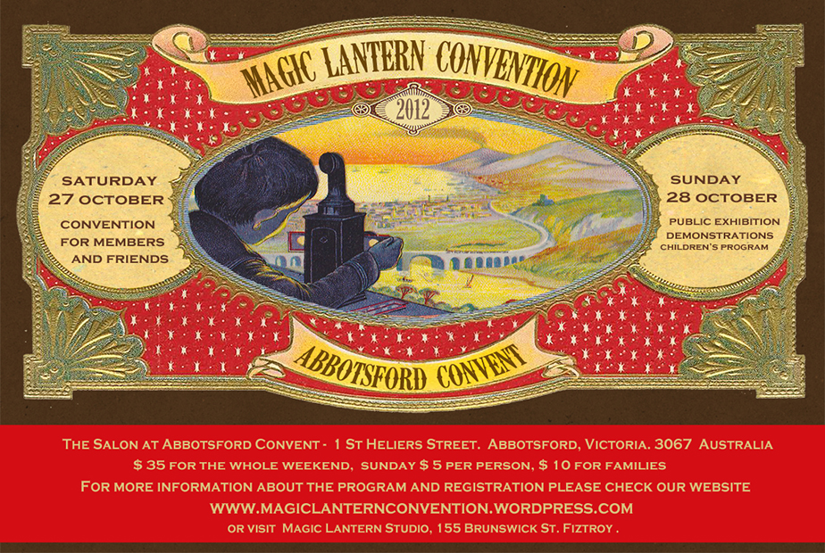 Magic Lantern Convention, Design Poster